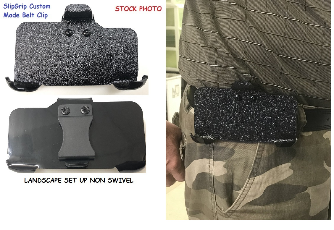SlipGrip Belt Clip For Apple iPhone 8 Plus Using Speck Presidio Grip Case