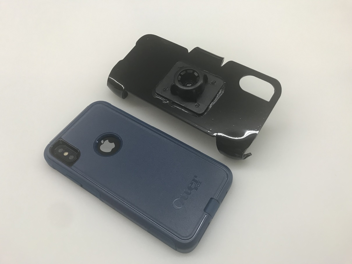 official photos c9613 9b23d SlipGrip 17MM Holder For Apple iPhone XS Max Using Otterbox Commuter Case
