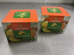 Al Fakher Citrus With Mint 2 Packs Of Fresh 250g Of Best Quality