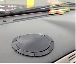 SlipGrip Dashboard Suction Cup Disc Plate Base For Suction Cup Mounts Up To 3.8