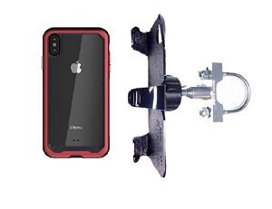 online store 55184 5fbd3 SlipGrip U-Bolt Bike Holder For Apple iPhone XS Max Using Ghostek Atomic  Case