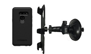 SlipGrip Car Holder For LG G8 ThinQ Using Otterbox Symmetry Case LP
