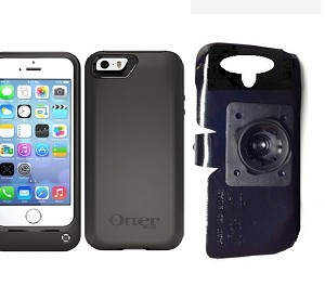 SlipGrip 22mm Ball Holder For Apple iPhone 5 & 5S Using Otterbox Resurgence Case