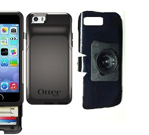 premium selection f6040 8452d SlipGrip 22mm Ball Holder For Apple iPhone 6 Using Otterbox Commuter Wallet  Case