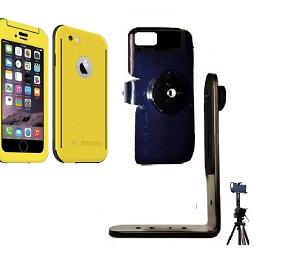 new arrival fec3c 8996f SlipGrip Tripod Mount For Apple iPhone 6 Using Seidio Obex WaterProof Case
