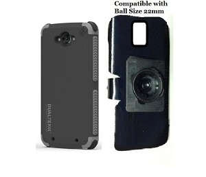 SlipGrip 22mm Ball Holder For Motorola Droid Turbo Using PureGear DualTek Extreme Case