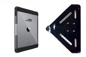 hot sale online 85787 111d7 SlipGrip RAM-HOL Mount For Apple iPad Pro 9.7 inch Tablet Using LifeProof  Nuud Case