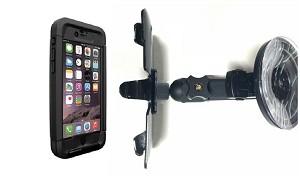 timeless design fff90 bb40d SlipGrip Car Holder For Apple iPhone 7 Plus Using Thule Atmos X5 WaterProof  Case HV