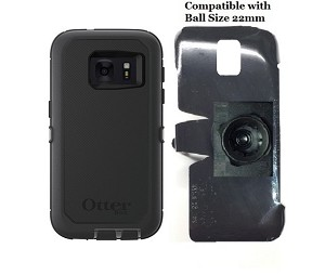 SlipGrip 22mm Ball Holder For Samsung Galaxy S7 Using Otterbox Defender Case