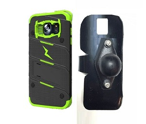 the latest 1a9a1 0d46f SlipGrip RAM Holder For Samsung Galaxy S7 edge Using Zizo Bolt Cover DL Case
