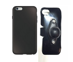 new concept 53ad5 0ee27 SlipGrip RAM Holder For Apple iPhone 6S Plus Using RhinoShield PlayProof  Case
