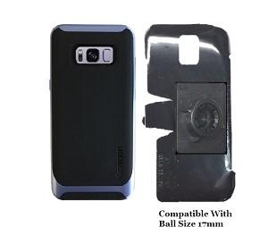 newest 7d641 4372d SlipGrip 17MM Holder Designed For Samsung Galaxy S8 PLus Spigen Neo Hybrid  Case