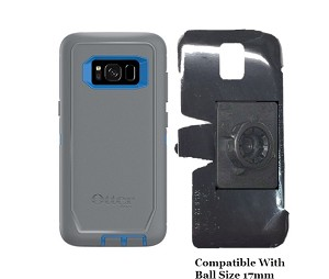SlipGrip 17MM Holder For Samsung Galaxy S8 Using Otterbox Defender Case