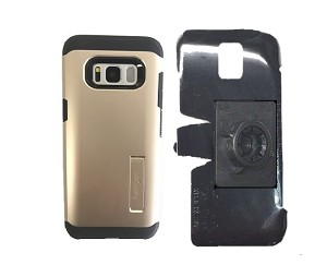 cheap for discount d4580 b0783 SlipGrip 17MM Holder Designed For Samsung Galaxy S8 Spigen Tough Armor Case