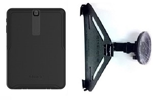 the latest 2fe78 6139a SlipGrip CAR Holder For Samsung Galaxy Tab S2 9.7 Tablet Using Otterbox  Defender Case