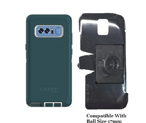 SlipGrip 17MM Holder For Samsung Galaxy Note 8 Using Otterbox Defender Case