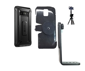 new style abbc9 ae79d SlipGrip Tripod Mount Designed For Samsung Galaxy Note 8 Supcase Beetle Pro  Rugged Case