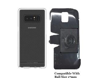 new style b60e9 30eda SlipGrip 17MM Holder Designed For Samsung Galaxy Note 8 Tech21 Evo Check  Case