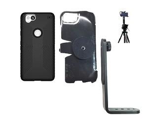 promo code 6e07c 84b52 SlipGrip Tripod Mount Designed For Google Pixel 2 Phone Speck Presidio Grip  Case