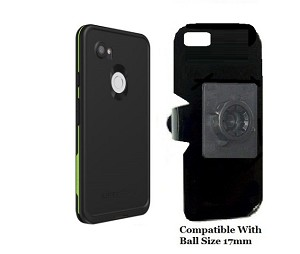 SlipGrip 17MM Holder Designed For Google Pixel 3 XL Phone Lifeproof FRE Case