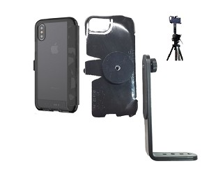 check out 15f19 1ddea SlipGrip Tripod Mount Designed For Apple iPhone X Tech21 EVO Wallet Case