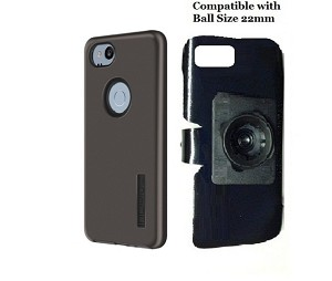 SlipGrip 22mm Ball Holder Designed For Google Pixel 2 Phone Incipio DualPro Case