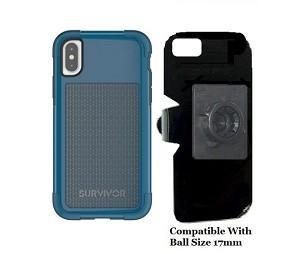 wholesale dealer 079d7 6cfae SlipGrip 17MM Holder Designed For Apple iPhone X Griffin Survivor Fit Case
