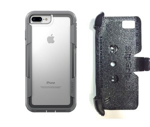brand new e0284 bc0e1 SlipGrip PRO Mounts Holder Designed For Apple iPhone 7 Plus Pelican Voyager  Clear Case