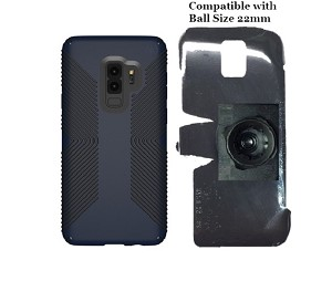 SlipGrip 22mm Ball Holder Designed For Samsung Galaxy S9 Plus Speck Presidio Grip Case
