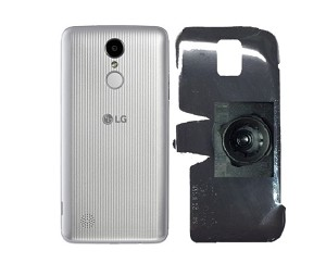 SlipGrip 22mm Ball Holder For LG Aristo Phone Naked Using No Case On