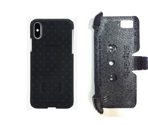 SlipGrip PRO Mounts Holder For Apple iPhone X Using Verizon KickStand Case