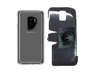 promo code 642bd 7b484 SlipGrip 22mm Ball Holder For Samsung Galaxy S9 Plus Using Otterbox  Symmetry Clear Case