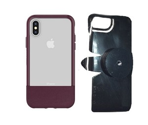 "SlipGrip 1/4"" Screw Bracket For Apple iPhone X Using Otterbox Statement Case"