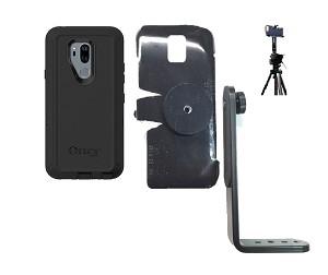 more photos dcd8e 31e18 SlipGrip Tripod Mount For LG G7 Thin Q Using Otterbox Defender Case