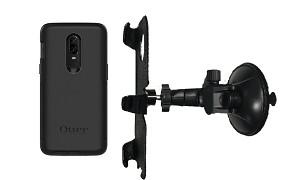 online retailer a1d24 43d3b SlipGrip Car Holder For OnePlus Six 6 Using Otterbox Commuter Case LP