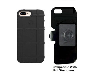 cheaper 73e11 6e3e6 SlipGrip 17MM Holder For Apple iPhone 7 Plus Using Magpul Field Case