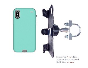 SlipGrip U-Bolt Bike Holder Designed For Apple iPhone X/XS Speck Presidio Sport Case