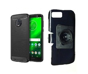 new style 4b049 c70a7 SlipGrip 22mm Ball Holder For Motorola Moto G6 Phone Using Motorola MoKo  TPU Slim Case