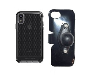 SlipGrip RAM Holder Designed For Apple iPhone XR Tech21 EVO Check Case