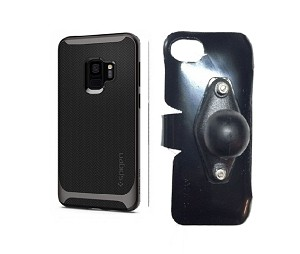 SlipGrip RAM Holder For Samsung Galaxy S9 Using Spigen Neo Hybrid Case