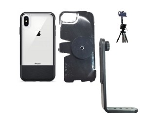 SlipGrip Tripod Mount For Apple iPhone XS Max Using Otterbox Statement Case