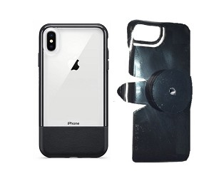"SlipGrip 1/4"" Screw Bracket For Apple iPhone XS Max Using Otterbox Statement Case"