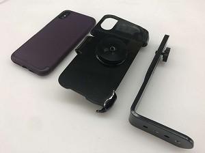 purchase cheap dc730 1c632 SlipGrip Tripod Mount For Apple iPhone XS Max Using Otterbox Strada Folio  Case