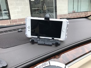 "SlipGrip Universal Car Dashboard Mount Holder Stand For Smartphones Up To 5.5"" Phone"