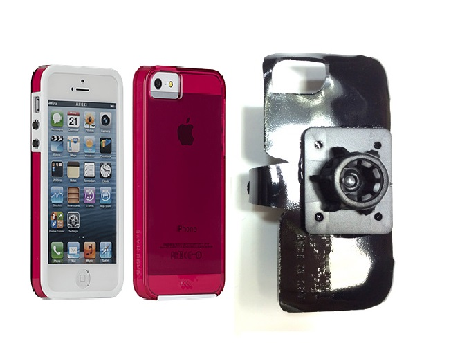 SlipGrip 17MM Holder For Apple iPhone 5 & 5S Using Case-Mate Naked Tough Case