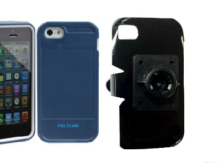 SlipGrip 17MM Holder For Apple iPhone 5 & 5S Using Pelican ProGear Protector Case