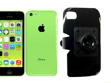 SlipGrip 17MM Holder For Apple iPhone 5C Using No Case