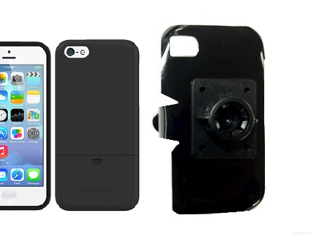 SlipGrip 17MM Holder For Apple iPhone 5C Using Seidio Surface Case