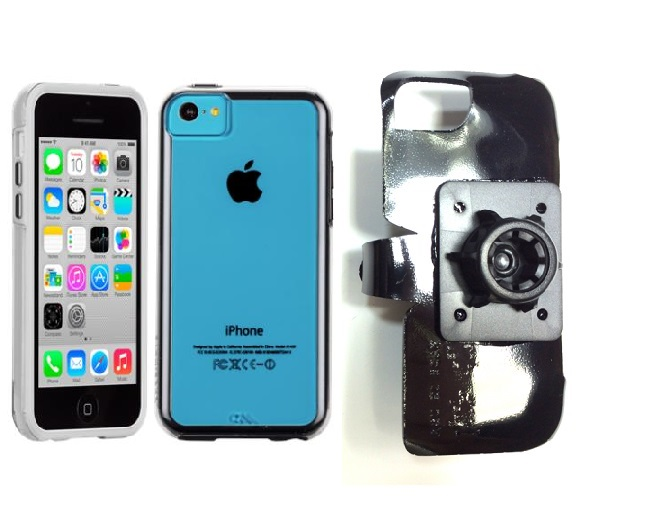 SlipGrip 17MM Holder For Apple iPhone 5C Using Case-Mate Naked Tough Case