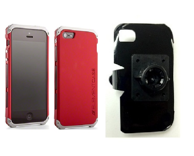 SlipGrip 17MM Holder For Apple iPhone 5 & 5S Using Element Solace Case